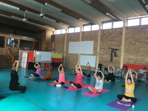 Yoga Sessions at the Hub