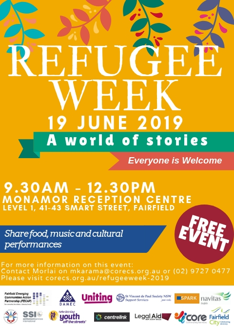 "Refugee Week 2019 - Event - ""A World of Stories"""
